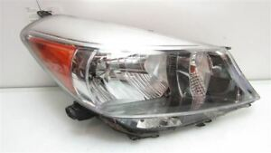Toyota Yaris Headlight Halogen Right Hatchback Chrome Trim Rh Oem 2012 2013 2014