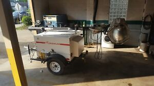Magnum 20 Kw Diesel Light Tower With Bag Light Attachment On Top