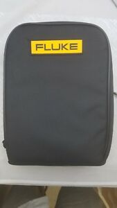 Fluke C115 Soft Carry Case 9 5 8 3 With Strap Free Shipping