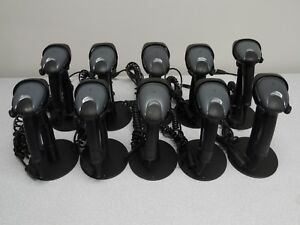 Honeywell Ms9590 Usb Laser Barcode Scanner With Stand Lot Of 10