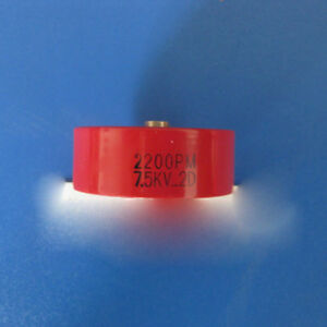 New 2000pf 2200pm 7 5kv 2d High Voltage Low Frequency Ceramic Capacitor