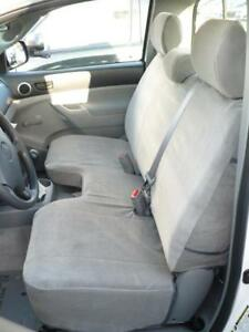 2009 2010 2011 2012 2013 2014 Toyota Tacoma Bench Seat Cover W Headrests Taupe