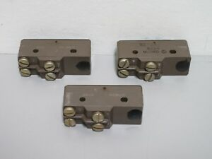 Lot Of 3 New Honeywell Micro Switch Bz 3at Limit Switches