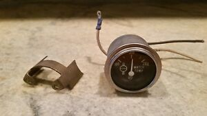 Vintage Ac Water Temperature Gauge Gmc Delco Classic Lafrance Fire Truck