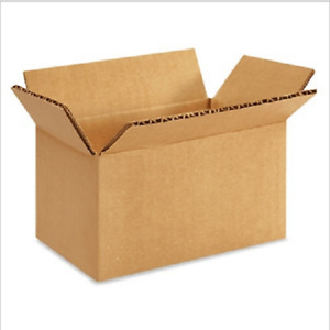 25 5x3x2 Cardboard Paper Boxes Mailing Packing Shipping Box Corrugated Carton