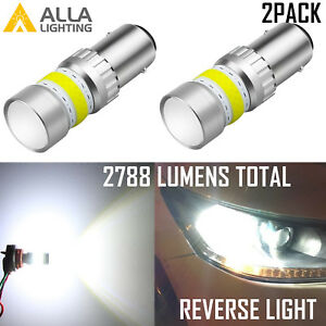 Alla Lighting 1156 72 Led Super Bright White Backup Reverse Light Bulb 3rd Brake