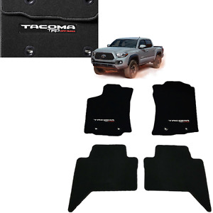 2018 2019 Tacoma Floor Mats Carpet Trd Off Road dbl Cab W auto Pt206 35088 02