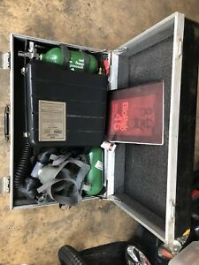 Biopak 45 45 Minute Self Contained Oxygen Breathing Apparatus