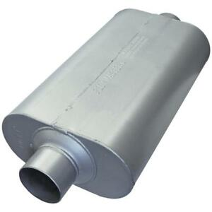 Flowmaster 53055 Super 50 Series Series Muffler 3 Center Inlet Center Outlet