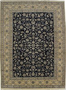 Fanciful Hand Knotted Classic Design Nain Persian Rug Oriental Area Carpet 10x13