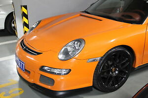 Porsche 911 997 Gt3 Front Bumper Usa Made Frp With Factory Lip 2005 To 2012