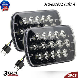 5x7 7x6 Led Headlight Sealed Beam Replacement H6054 For Nissan Pickup Hardbody
