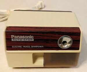 Panasonic Auto Stop Electric Pencil Sharpener Model Kp 110 100w Made In Japan