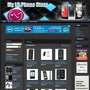 Lg Cell Phone Store Amazon Adsense Online Affiliate Website Business For Sale