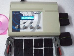 Biotech 4 Channel Lcd Display Electroterapy Physical Therapy Machine jhxvy