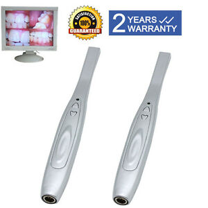 2pcs Intra Oral Dental Focus Camera Intraoral Md740a Digital Usb x Pro Imaging