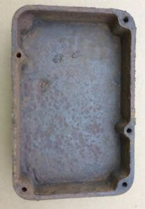 Maytag Engine Fuel Gas Tank Cast Iron Hit And Miss Twin Cylinder Motor