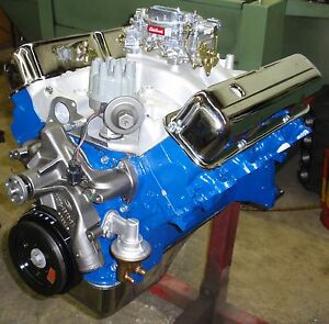 Ford Fe Big Block 428 475 Horse Crate Engine pro built new 390 427 Super Rare