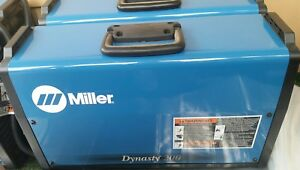 Miller Dynasty 200 Dx Tig Welder 907099011 Slightly Used