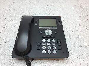 Avaya 9608 R45 Ip Digital 700504844 Office Phone W Handset Tested And Working
