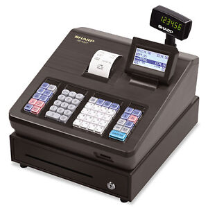 Sharp Xe Series Electronic Cash Register Thermal Printer 2500 Lookup 25 Clerks