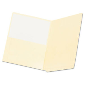Pendaflex Manila End Tab Pocket Folders Straight Tab Two ply Letter Manila 50