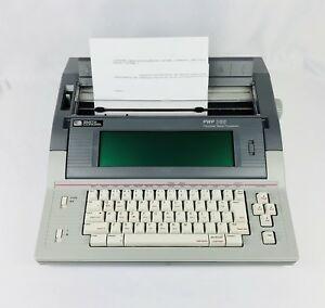 Smith Corona Pwp365 Electronic Word Processor Typewriter W Cover