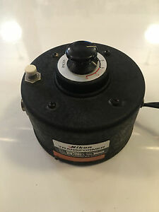 Vintage Nikon Microscope Variable Power Transformer