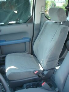 2003 2011 Honda Element Front And Back Exact Fit Seat Cover Set Black Velour