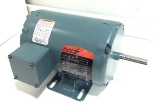 New Reliance P56h1302 5 1 2hp Electric Motor 208v 230v 460v 3phase 1725rpm 56