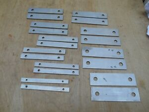 Machinist Parallels Set Of 10 1 2 1 5 8