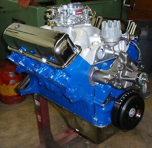 Ford Fe Big Block 390 430 Horse Crate Engine Pro built New 351 408 427 428