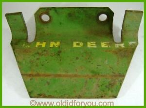 29811an John Deere Mt Front Coupling Plate Or Cultivator Bracket Or Tie Down