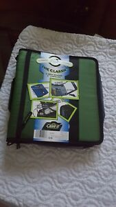 Brand New Case It the Classic 3 Ring Binder 2 Capacity Green