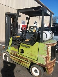 Forklift Lift Truck Propane Runs Works Great Atlanta Ga