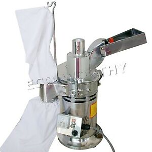 Df 15 Automatic Continuous Hammer Mill Herb Grinder Herb Mill Pulverizer 15kg h