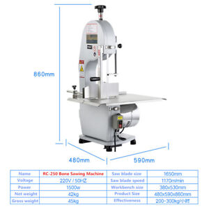 220v Commercial Bone Sawing Machine Frozen Meat Cutting Machine Bone Cutter Y