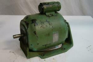 Vintage General Electric Ac Motor 1ph 3 4hp 115 230v 1725rpm 60cy 5k073ab316bx