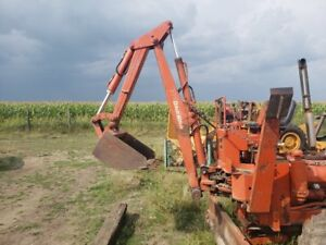 Ditch Witch R40 Complete Model 140 Backhoe Attachment Self contained Unit