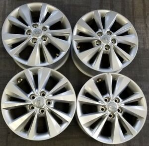 17 Kia Sedona Factory Oem Alloy Wheels Rims 17x6 1 2 2015 2018