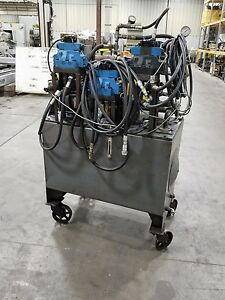 100 Gallon Hydraulic Power Unit Vickers Pump 10hp shipping Available 0006sr