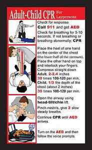 1000 Personalized Custom Business Cards W 2015 Cpr Instructions On Back