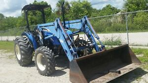 New Holland Tn75 With Loader 15 500