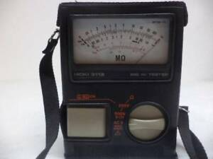 1 New Hioki Hi Tester 3118 11 Analog Megaohm Insulation Tester 2 Ranges R6