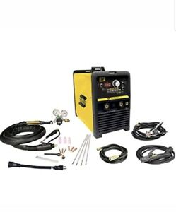 Esab W1006313 Et 141i Ac dc Tig stick System With Foot Control