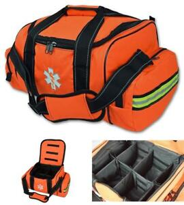 Lightning X Large Emt Medic First Responder Ems Trauma Jump Bag W Dividers