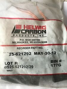 New Helwig Carbon 25 621292 Pack Of 4 100 Amp Dc Motor Brush