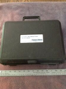 Thomas Betts E z coder Wire Marker Printer Wd 25p With Case And Manual