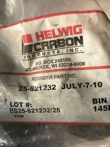 New Helwig Carbon 25 621232 Dc Motor Brush Pack Of 4