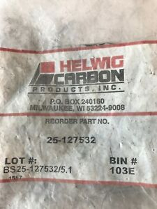 New Helwig Carbon 25 127532 Dc Motor Brush Pack Of 4